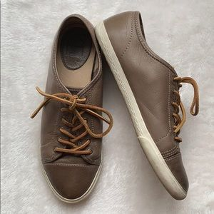 Frye Leather Mindy Sneakers Sz 8.5 Low Top Shoes